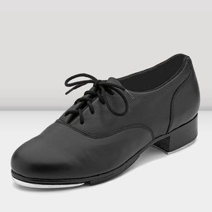 Bloch tap dance shoes Respect leather oxford black